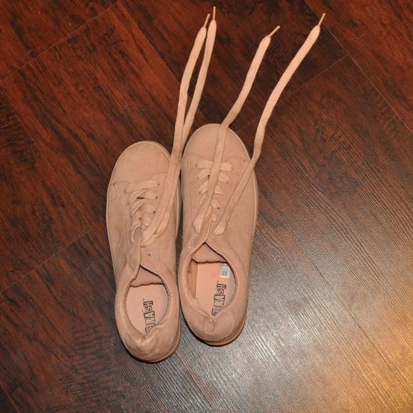 Brash Shoes - BLUSH PINK SNEAKERS